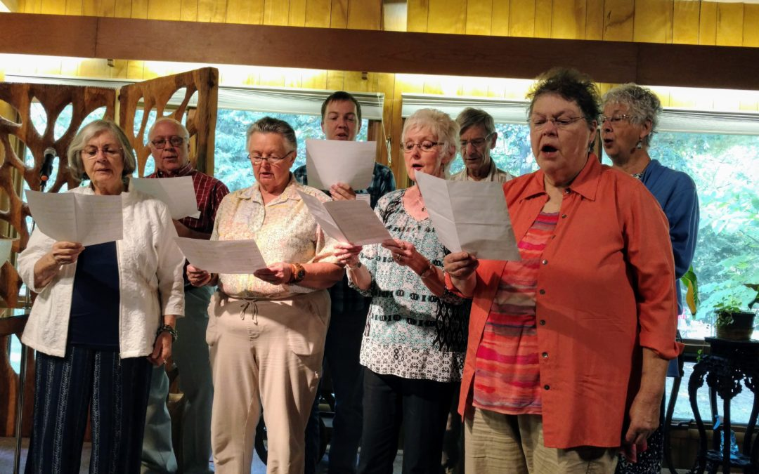 Choir debuts in Sept. 17 service to much excitement